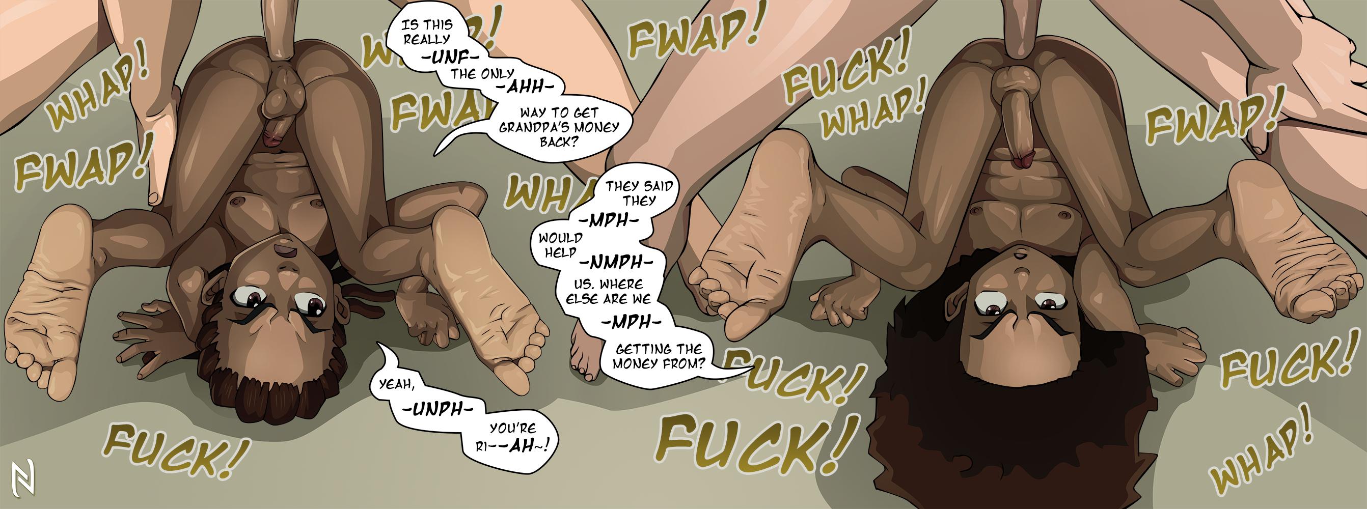 The boondocks porn comics
