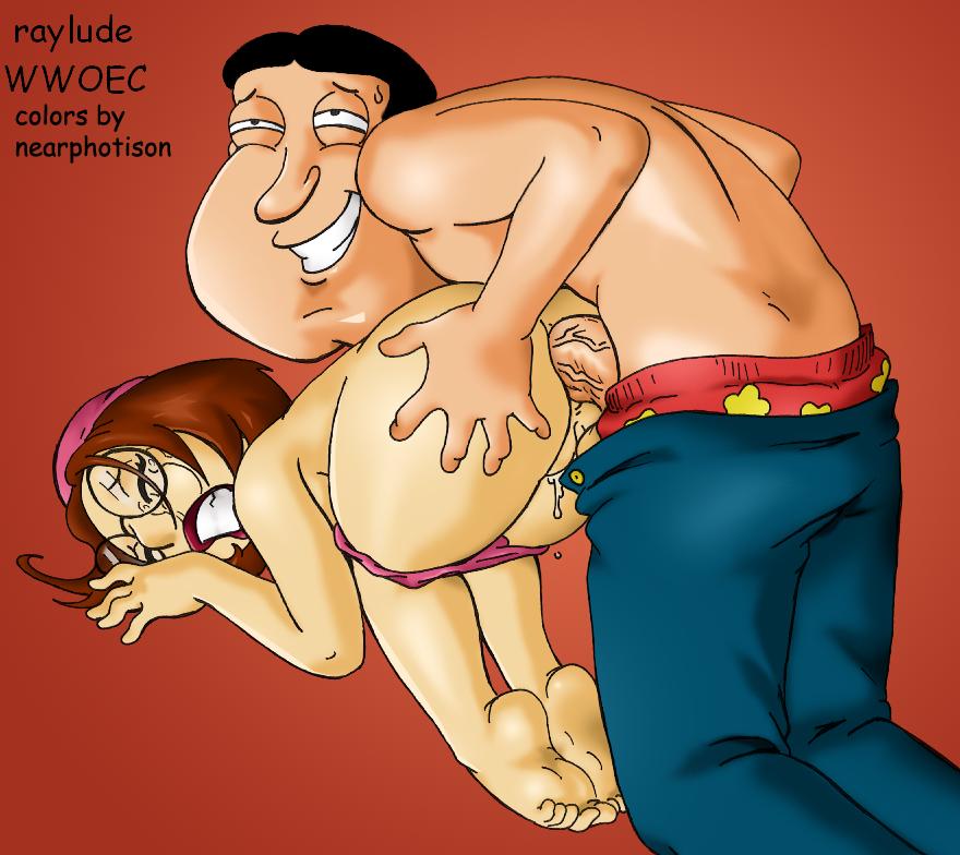 Lois's titjob affair with glenn quagmire
