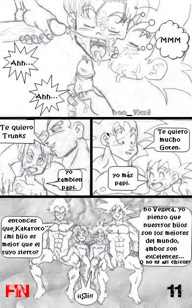 gay y trunks xxx dragon ball goku